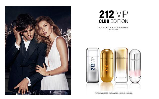 212 VIP Men Club Edition: новинка-2015 от Carolina Herrera