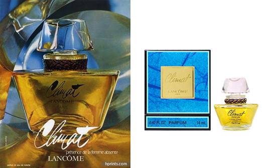 5 самых популярных ароматов прошлого века: Lancome Climat