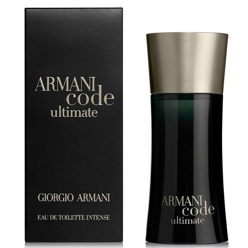 Туалетная вода Giorgio Armani Code Ultimate Eau De Toilette Intense для мужчин  - edt 50 ml