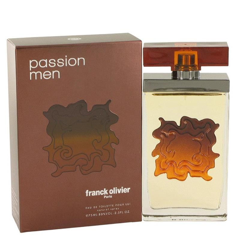 Туалетная вода Franck Olivier Passion For Men для мужчин  - edt 75 ml