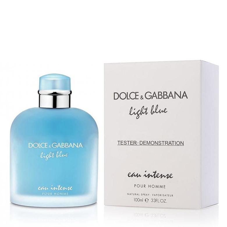 Парфюмированная вода DolceandGabbana Light Blue Eau Intense Pour Homme для мужчин  - edp 100 ml tester