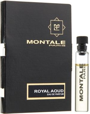 Парфюмированная вода Montale Royal Aoud для мужчин и женщин  - edp 2 ml vial