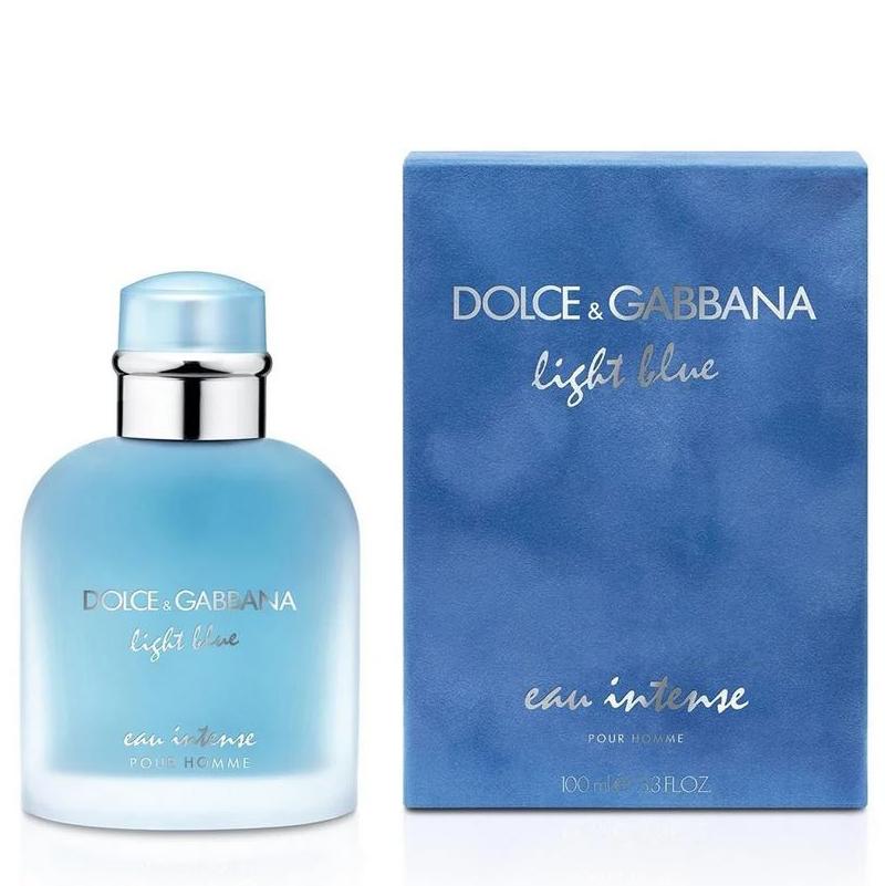 Парфюмированная вода DolceandGabbana Light Blue Eau Intense Pour Homme для мужчин  - edp 100 ml