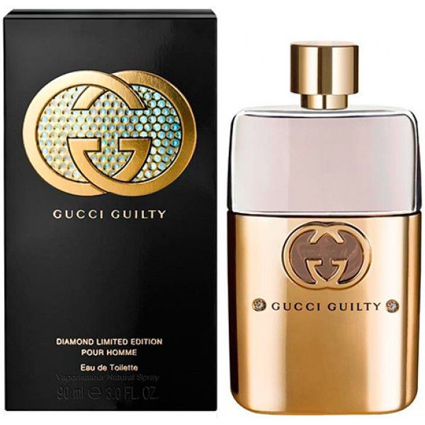 Туалетная вода Gucci Guilty Pour Homme Diamond Limited Edition (edt 90ml)