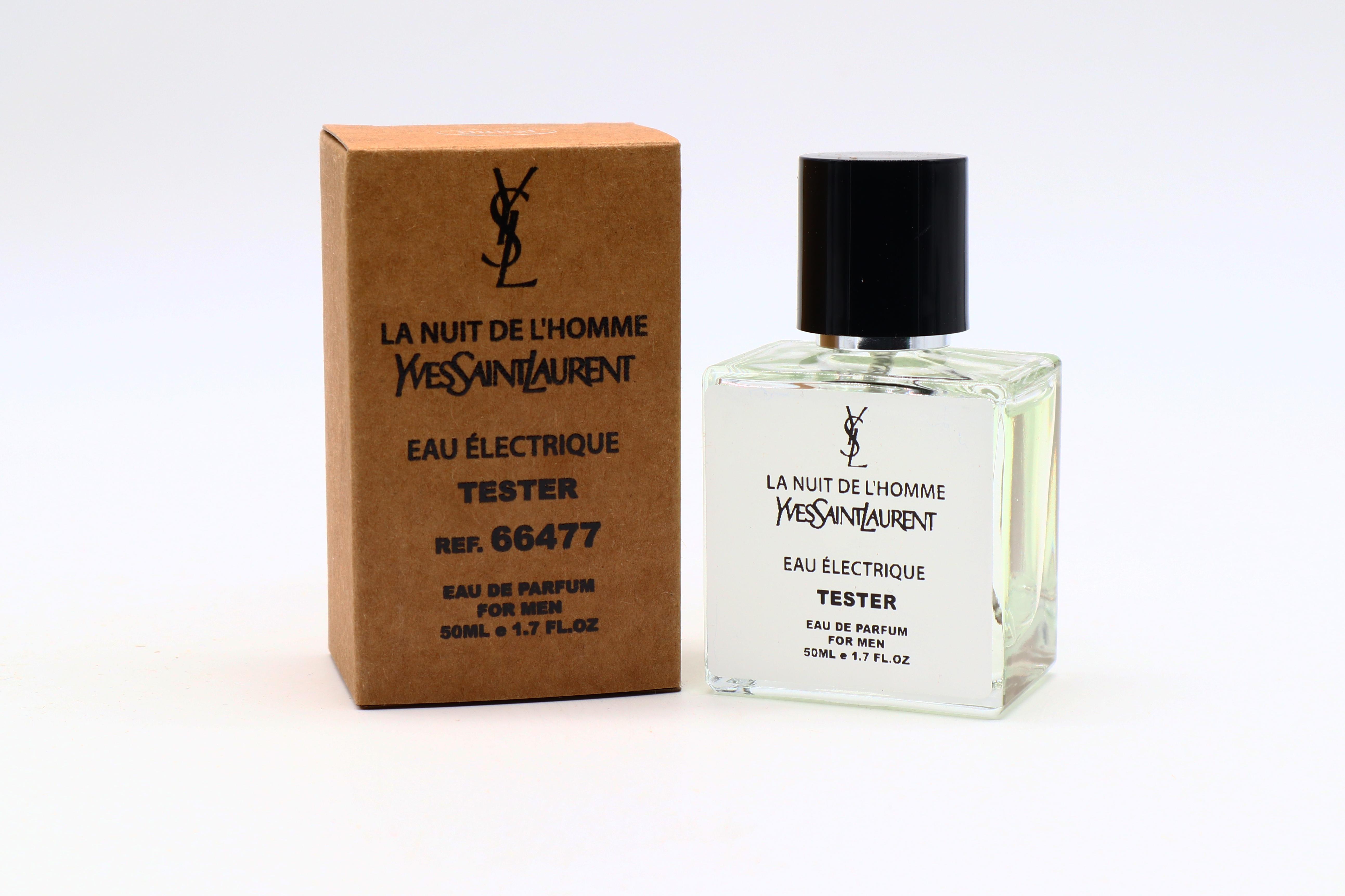 Yves Saint Laurent La Nuit De L'homme Eau Electrique (тестер 50 ml)