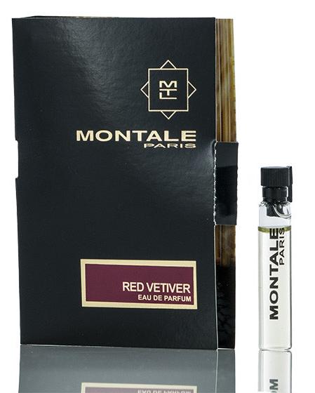Парфюмированная вода Montale Red Vetyver для мужчин  - edp 2 ml