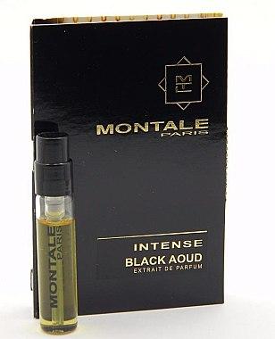 Парфюмированная вода Montale Black Aoud Intense для мужчин и женщин  - edp 2 ml vial