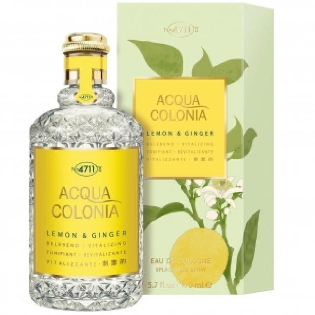 Одеколон Maurer and Wirtz 4711 Acqua Colonia Lemon and Ginger унисекс  - edc 170 ml