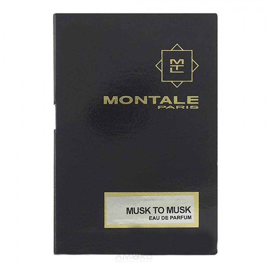 Парфюмированная вода Montale Musk to Musk для мужчин и женщин  - edp 2 ml vial