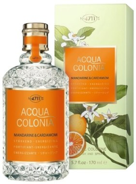 Одеколон Maurer and Wirtz 4711 Acqua Colonia Mandarine and Cardamom унисекс  - edc 170 ml
