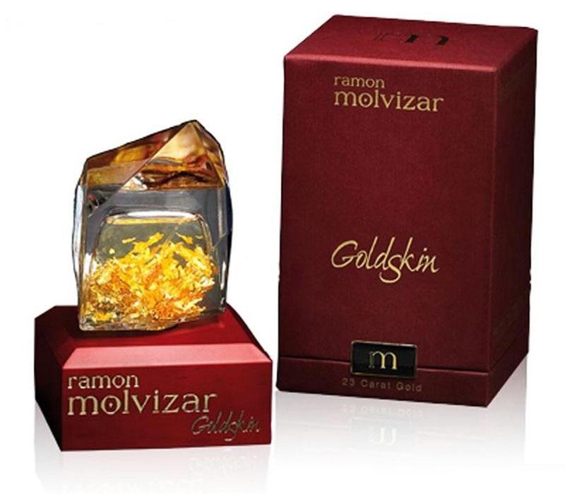 Парфюмированная вода Ramon Molvizar Goldskin для женщин  - edp 75 ml