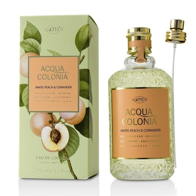Одеколон унисекс Maurer and Wirtz 4711 Acqua Colonia White Peach and Coriander  - edc 170 ml