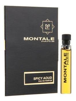 Парфюмированная вода Montale Spicy Aoud для мужчин и женщин  - edp 2 ml vial