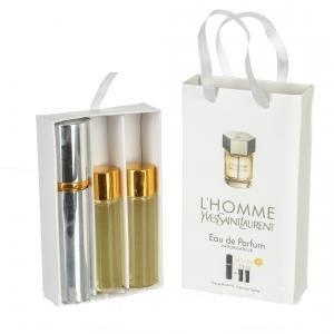 Набор с феромонами Yves Saint Laurent L'Homme (3×15 ml)