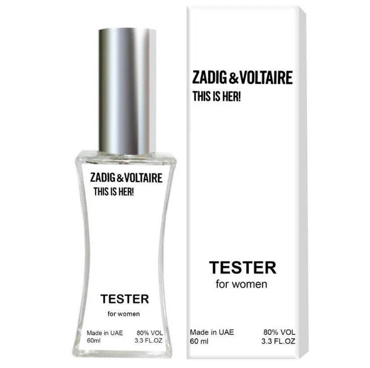 Тестер Zadig & Voltaire This is her (edp 60 ml)