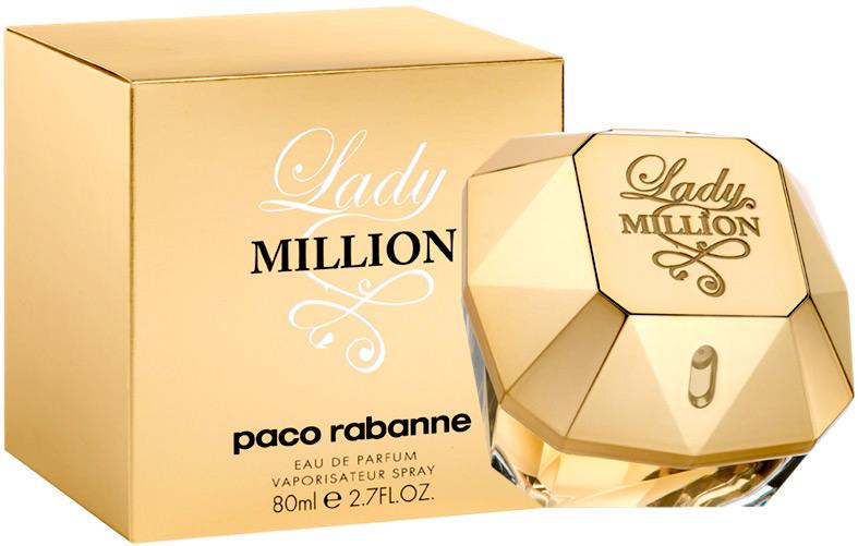 Парфюмированная вода Paco Rabanne Lady Million (edp 80ml)