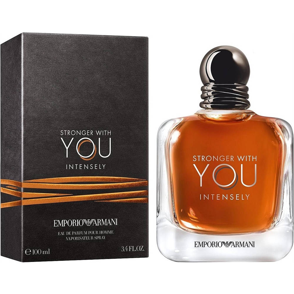 Туалетная вода Emporio Armani Stronger With You Intensely (edt 100 ml)