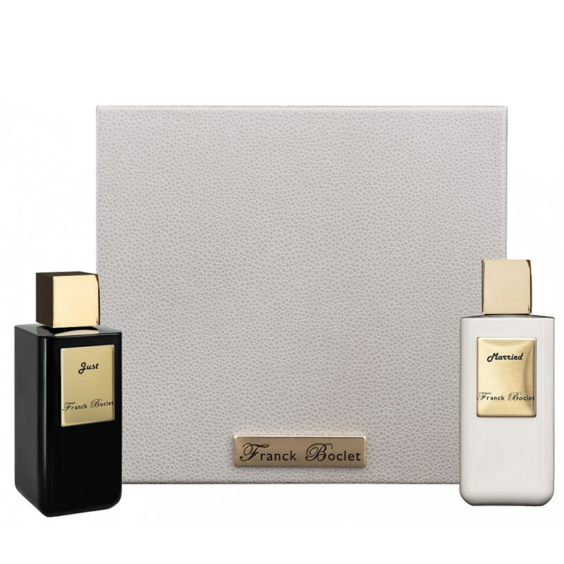 Набор Franck Boclet Just + Married для мужчин и женщин  - set (parfum 100 ml + parfum 100 ml)