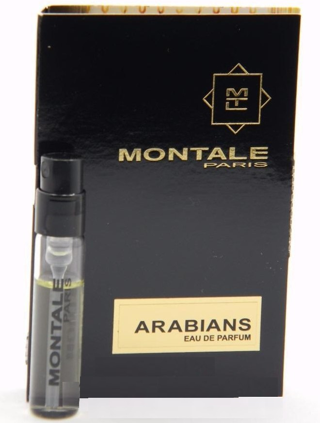 Парфюмированная вода Montale Arabians для мужчин и женщин  - edp 2 ml vial