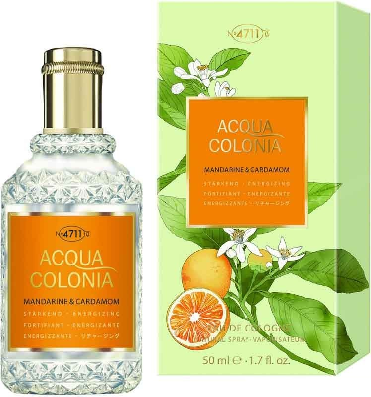 Одеколон Maurer and Wirtz 4711 Acqua Colonia Mandarine and Cardamom унисекс  - edc 50 ml