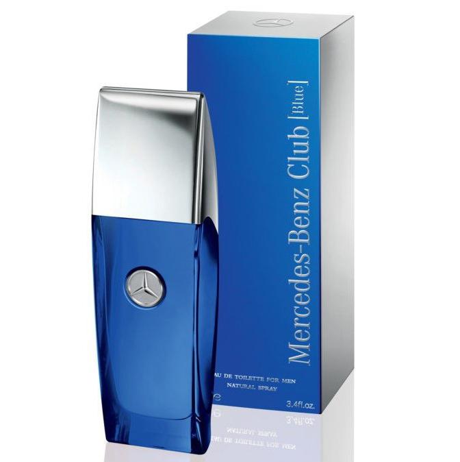 Туалетная вода Mercedes-Benz Club Blue для мужчин  - edt 100 ml