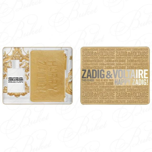 Набор Zadig & Voltaire This Is Her для женщин (оригинал) - set (edp/50ml + golden pouch)