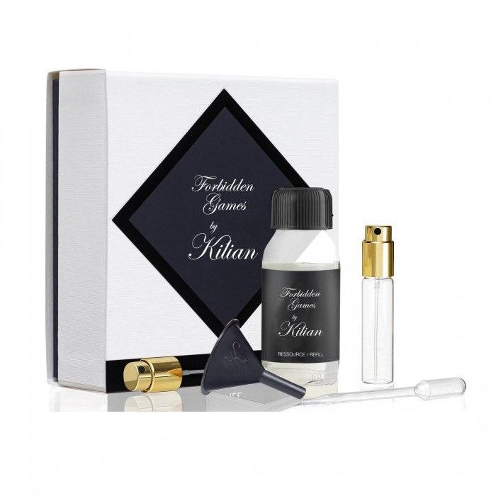 Набор Kilian Forbidden Games для женщин  - set (refill/50ml + funnel + dropper + vial/7.5ml + spray)