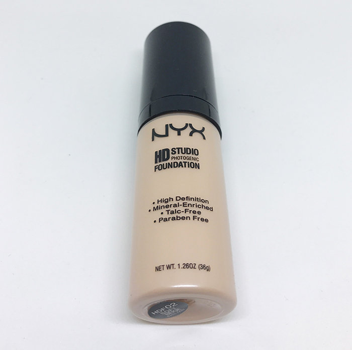 Тональный крем Nyx HD Studio Photogenic Foundation - Тональный крем Nyx HD Studio Photogenic Foundation 02