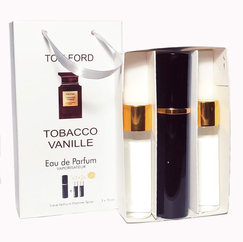Набор с феромонами Tom Ford Tobacco Vanille (3×15 ml)