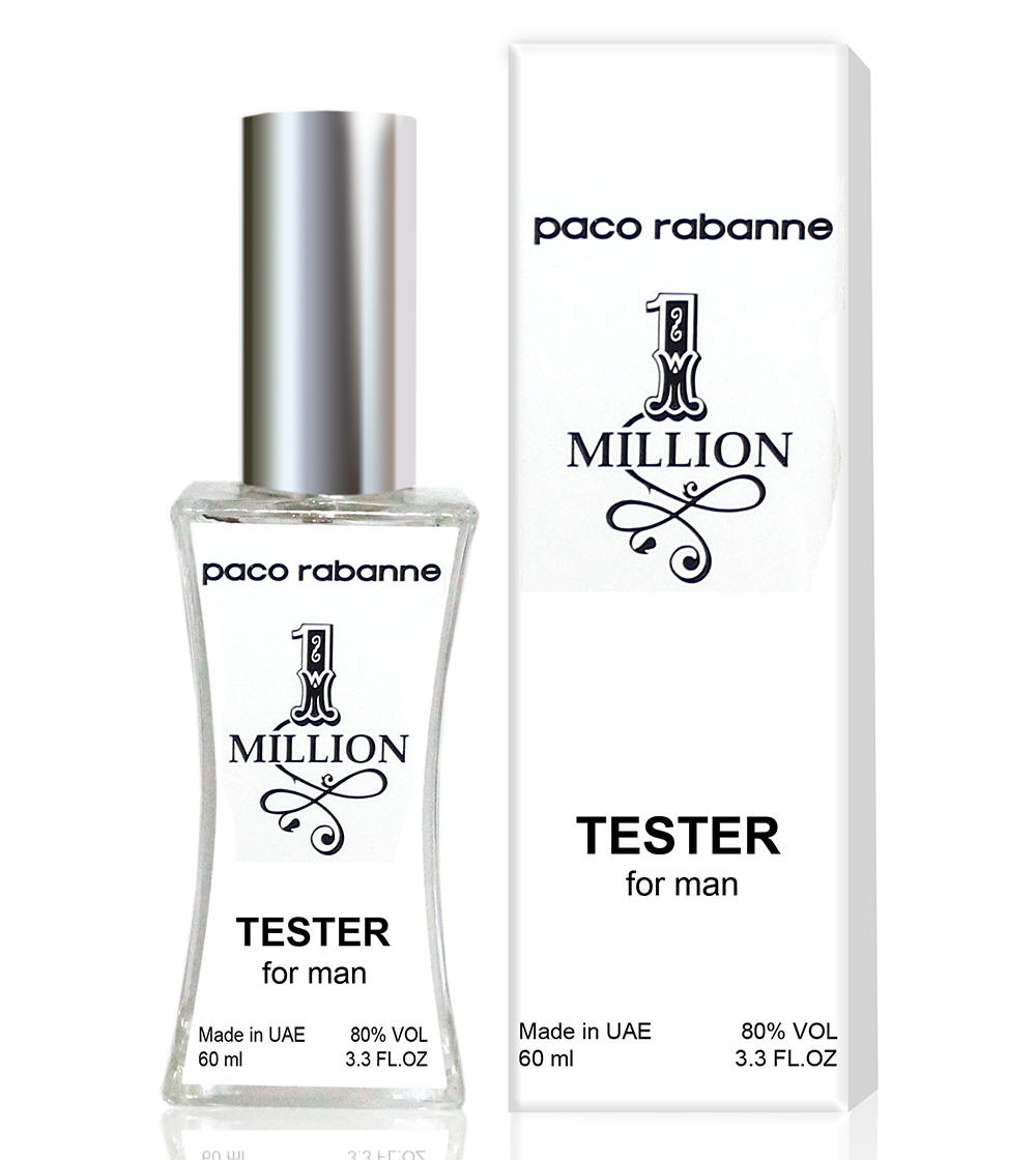 Тестер Paco Rabanne 1 Million (edp 60ml)