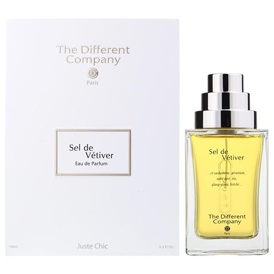 Парфюмированная вода The Different Company Sel De Vetiver унисекс  - edp 100 ml