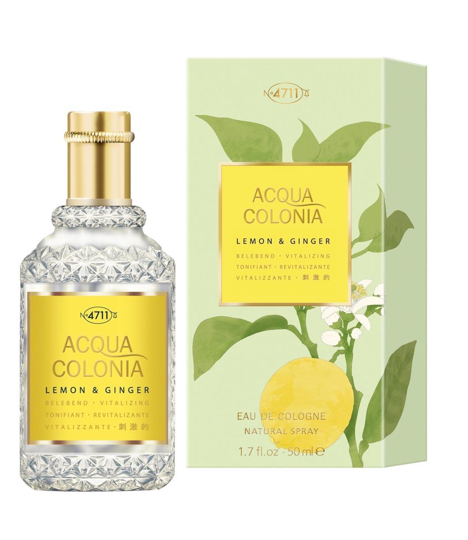Одеколон Maurer and Wirtz 4711 Acqua Colonia Lemon and Ginger унисекс  - edc 50 ml