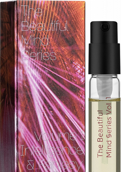 Туалетная вода Escentric Molecules The Beautiful Mind Series Vol.1 Intelligence & Fantasy для мужчин и женщин (оригинал) - edt 2 ml vial